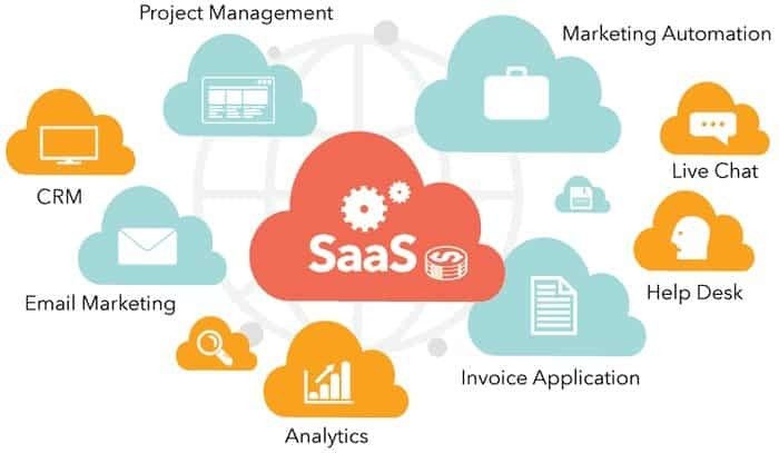 Software as a Service ( SaaS)