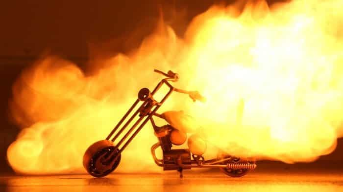 Let's burn a motorbike! Ghost Raider Bike-2