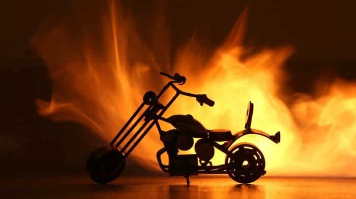 Let's burn a motorbike! Ghost Raider Bike-3