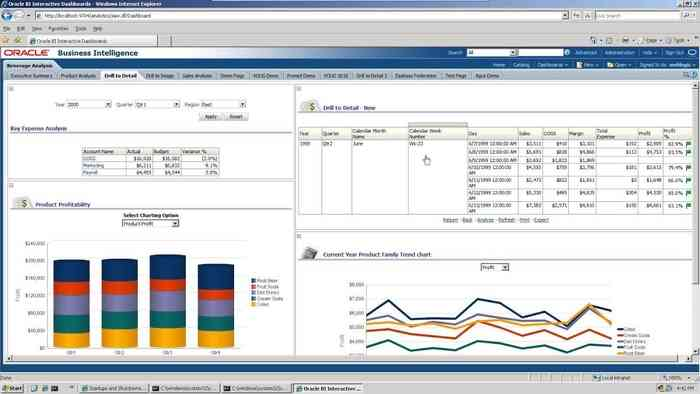 Oracle Hyperion Business Intelligence Software