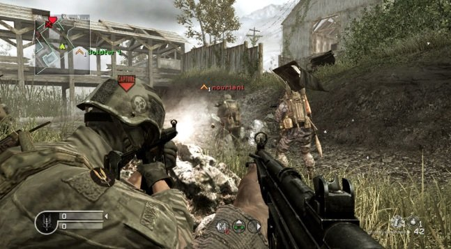 The Call of Duty 4: Modern Warfare