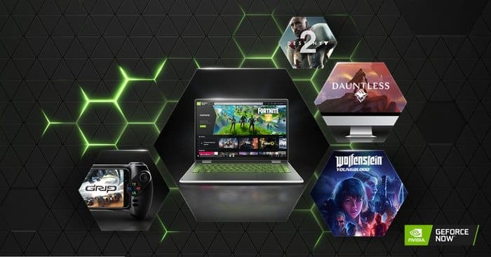 GeForce Now Gaming platform for Cloud