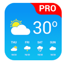 Weather App Pro is another accurate weather android app.