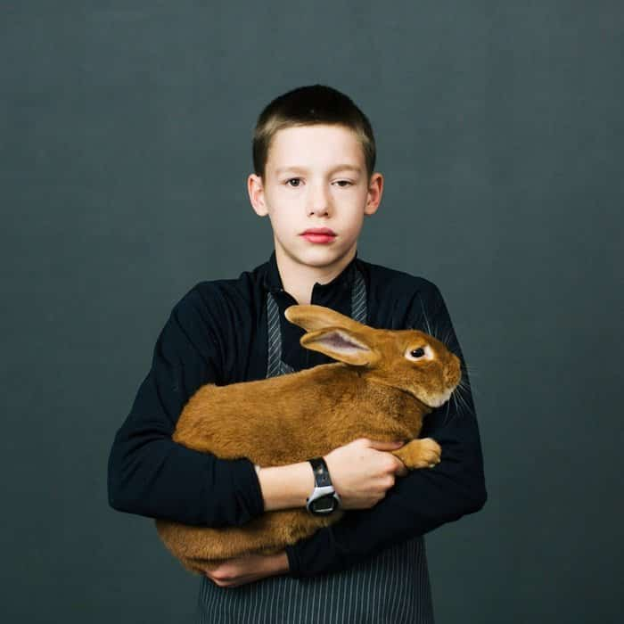 self portrait photography with pets 4