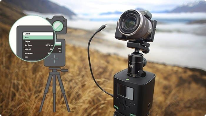 time lapse photography remote