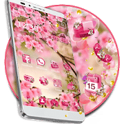Best themes for android Pink Summer Flower Theme