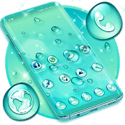 Best themes for android Water Drops Theme