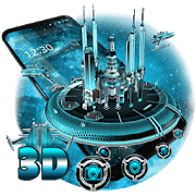 best themes for android 3D Space Galaxy Theme