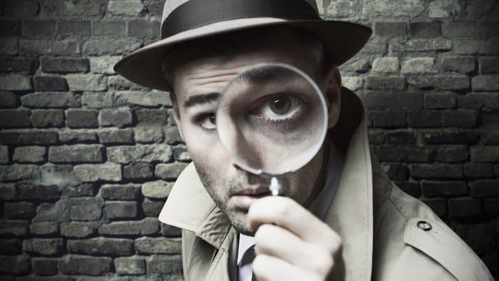 self portrait photography ideas with magnifying glass 3