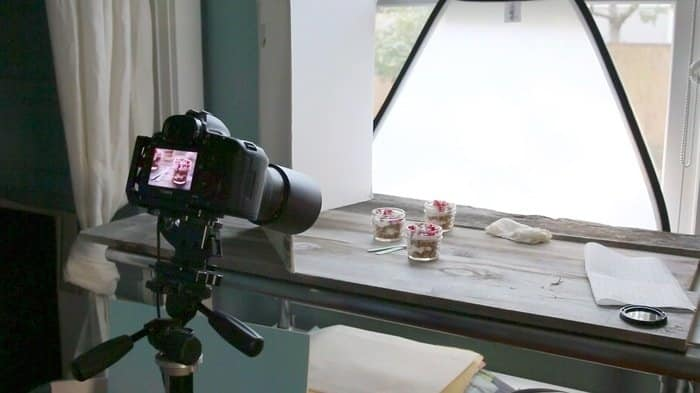 food photography tips natural lights