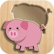 Baby puzzles is an educative app for the kids.