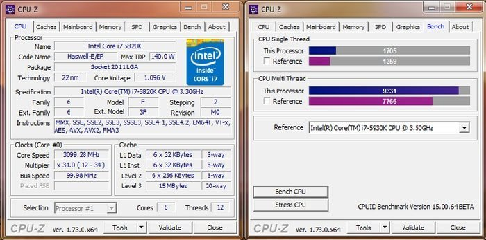 how to overclock cpu with CPU-z