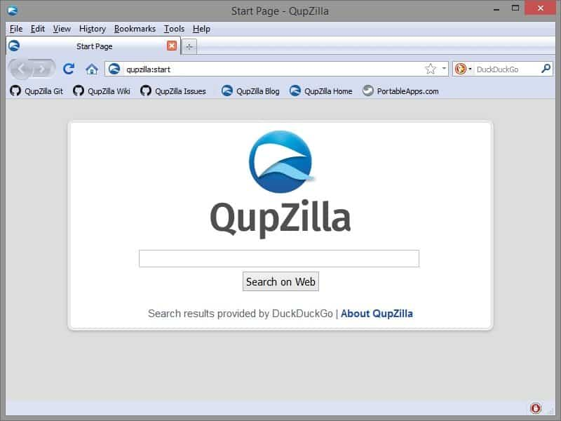 QupZilla Web Browsers For Windows