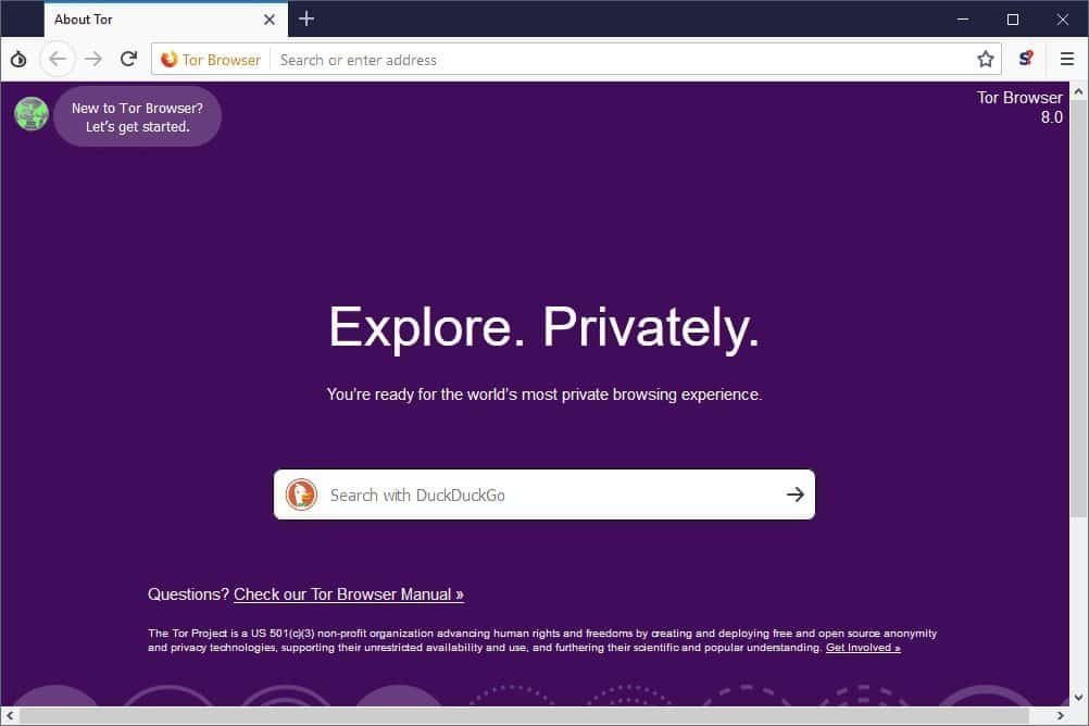 Tor Web Browsers For Windows