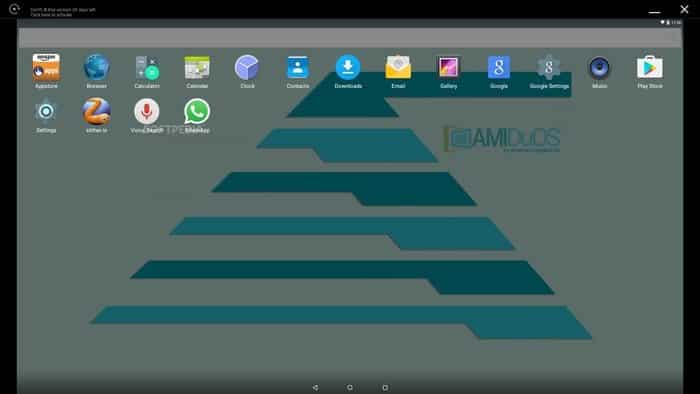 android emulator for windows -  AMIDuOS