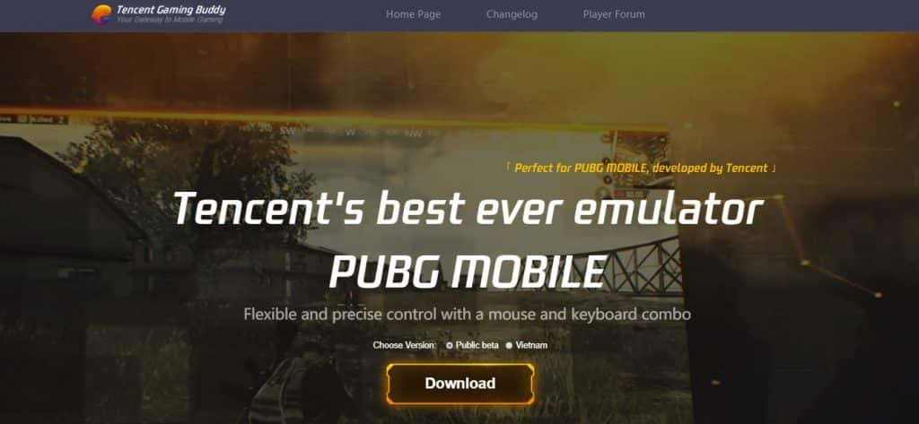 play pubg on pc download from tencent gaming buddy