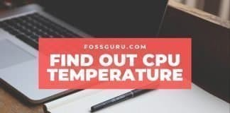 Find Out CPU Temperature