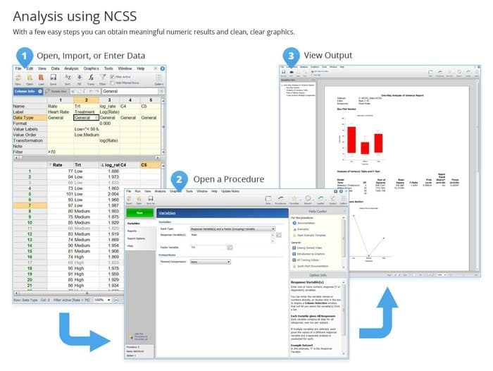 NCSS software package as Free Statistical Software