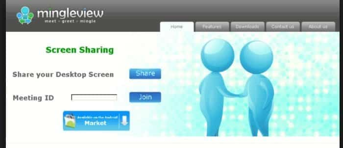 mingleview  to Share Screen Online With Multiple Users