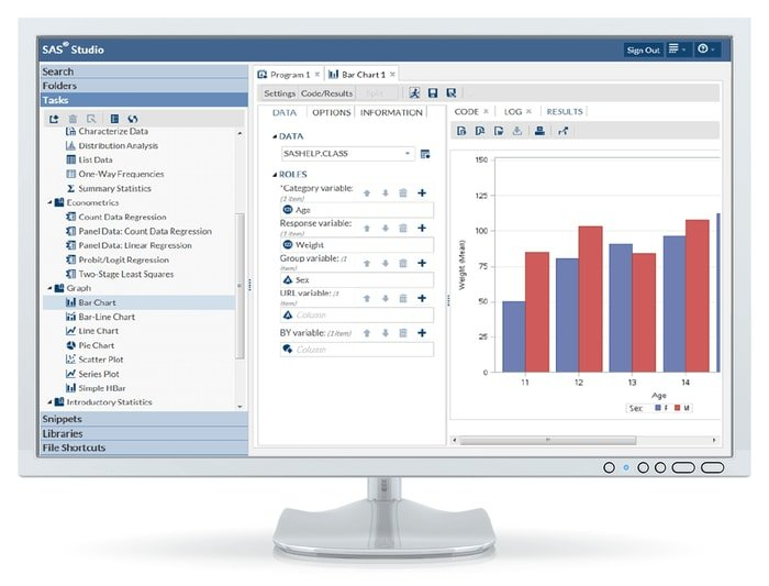 SAS statistical software program is is a Free Statistical Software