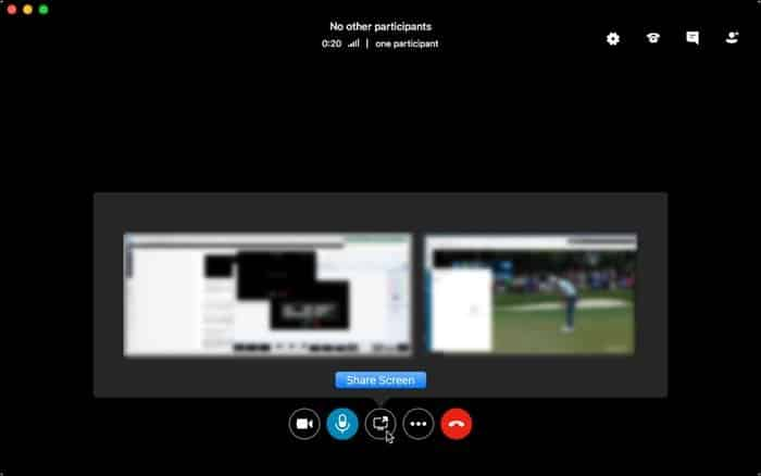 skype screen share