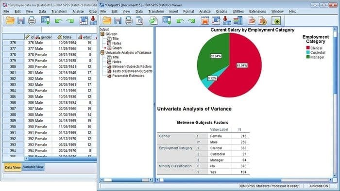 SPSS Free Statistical Software