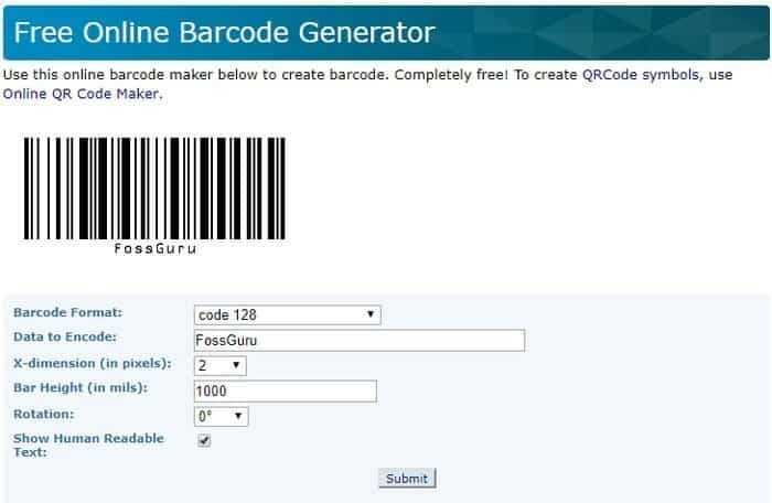 Top 20 Free Barcode Generator Software for Personal and