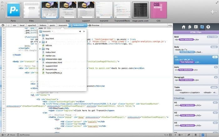 coda-Best Source Code Editor That A Programmer Must Know