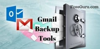 Gmail backup Tools