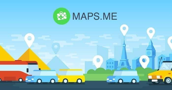 Maps.me is a mapping service