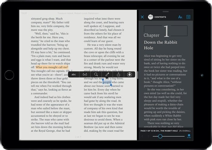 Marvin: An Intelligent Reading App for iPhone and iPad
