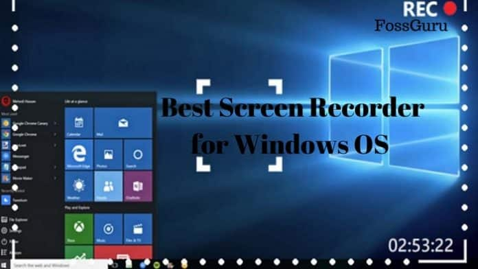 Best Screen Recorder for Windows OS