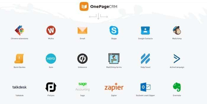 OnePageCRM is one of the most powerful CRM beyond imagination.