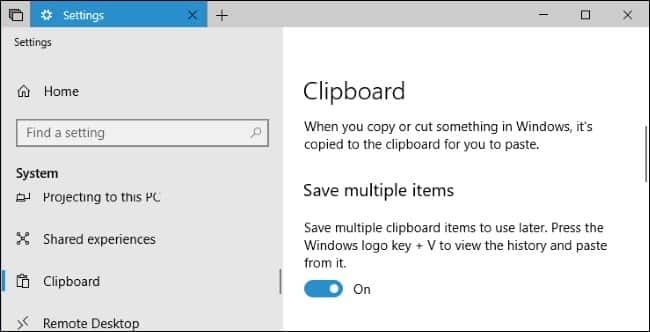 Clipboard Manager Windows 10