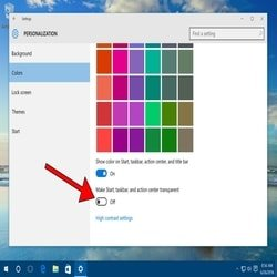 Disable Windows Special Effect