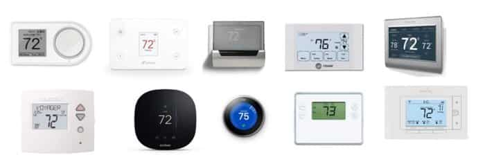 IoT Wifi Thermostats as IoT Based Home Automation
