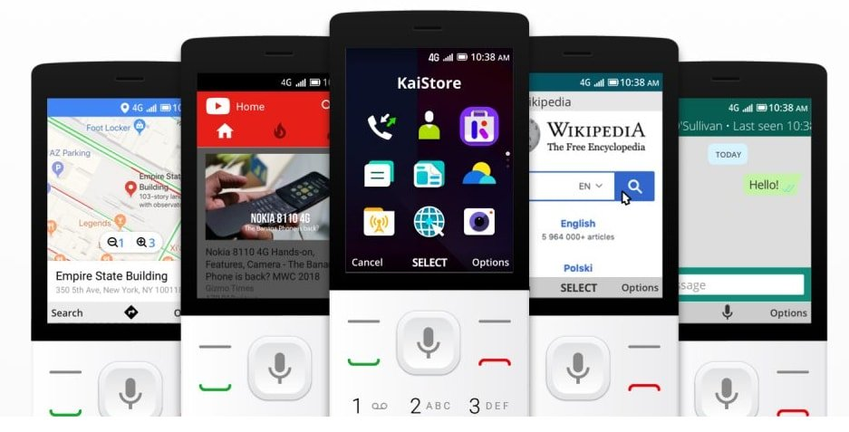 5 Big Features of KaiOS