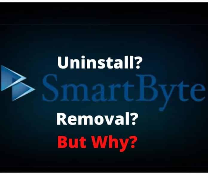 Should SmartByte Removal From Your PC Will Be Wise?