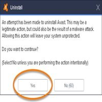 Avast Uninstall