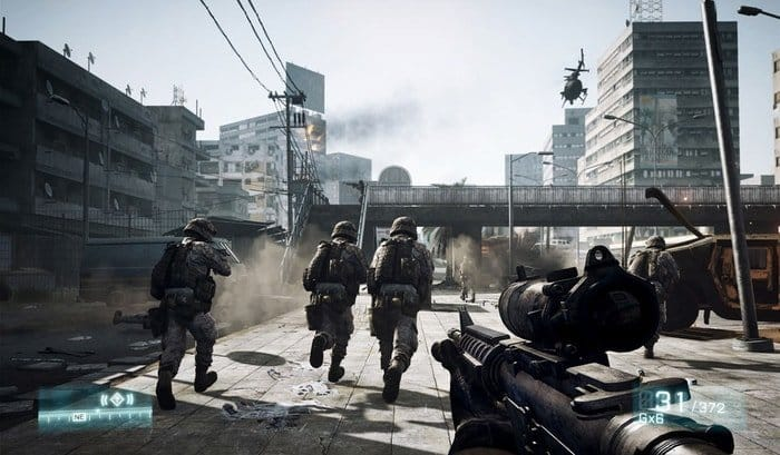 Google Stadia Game Battlefield 3