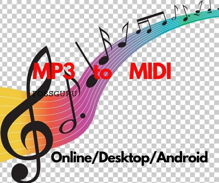 Best 20 MP3 to MIDI Converter Online/Windows/Mac/Android