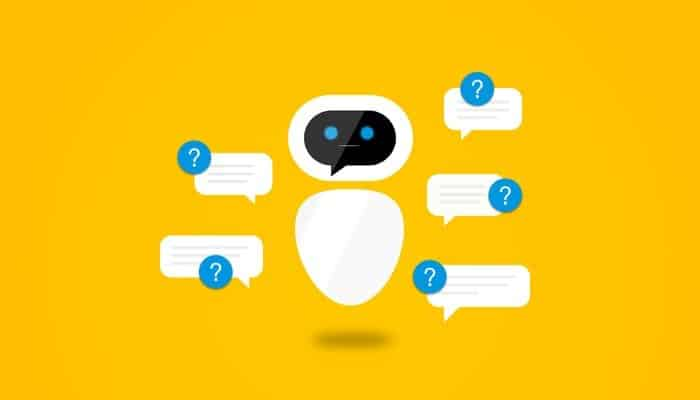 A chatbot is used to simulate human conversation with a machine in a contextual sense.