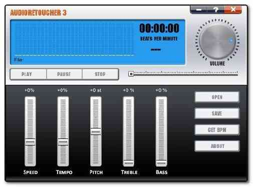 AudioRetoucher 3 Best Equalizer Software for Windows 10