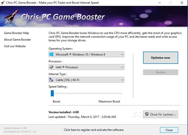 Chris-PC Game Booster