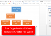 Free Organizational Chart Template Creator for Word 2010