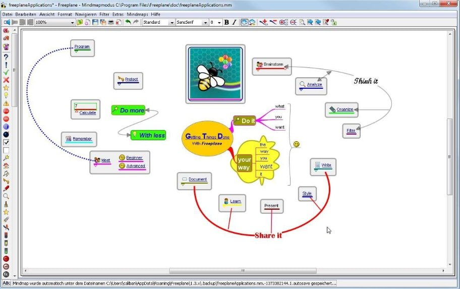 FreePlane Mind Mapping Software Free