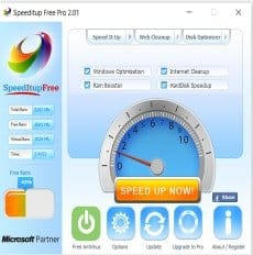 SpeedItUp Free Game Booster for Windows
