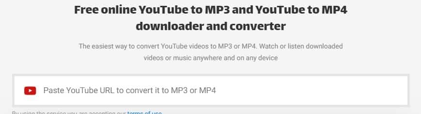 Converto Online YouTube to MP3 Converter