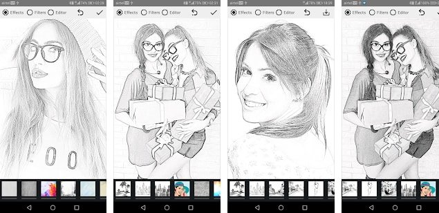 Pencil Photo Sketch – sketching Drawing Photo Editor