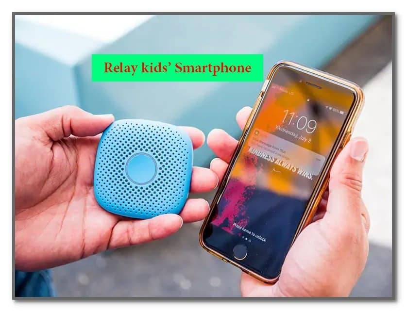 Relay kids' smartphone